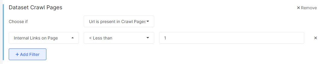 Find Non-Interlinked Pages With JetOctopus