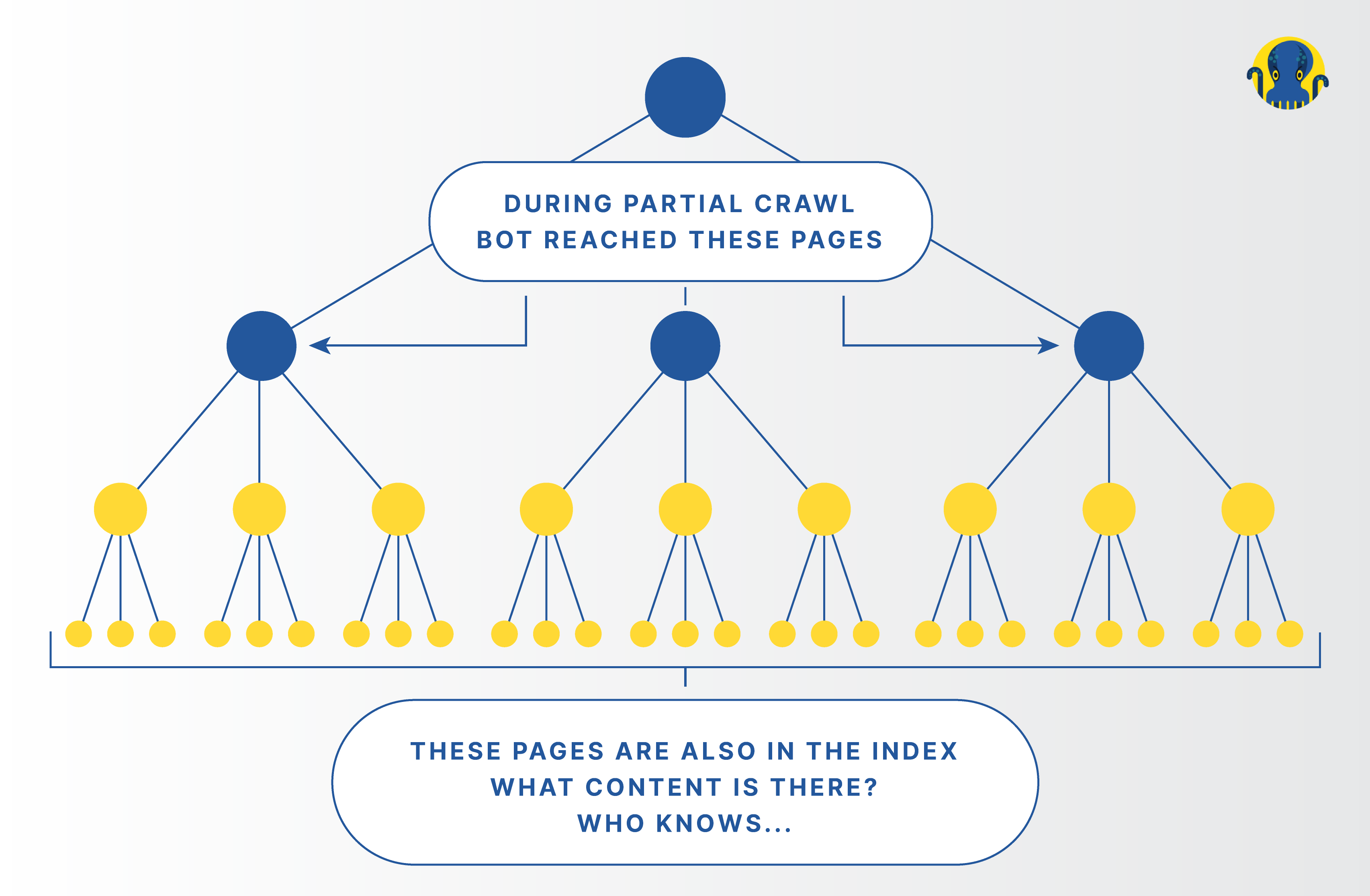 Results of Partial and Comprehensive Crawls